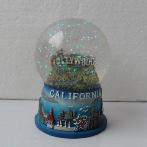 Califonia Hollywood Snow globe