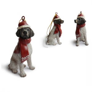 Pointer Christmas Tree Ornaments
